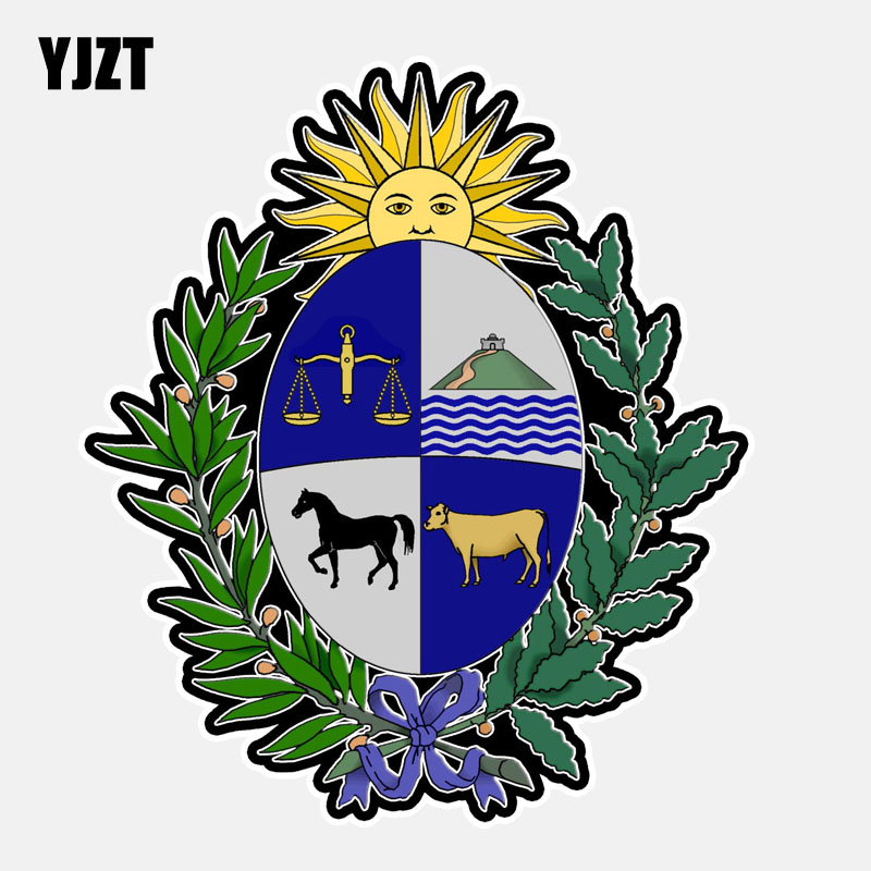 Uruguay Coat Of Arms Car Bumper Sticker Decal 5/'/' or 6/'/' 3/'/'