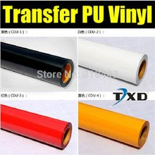 Free shipping PU Heat Transfer Film and Heat Transfer Thermo Film For Garment 50x100cm in one lot(China)