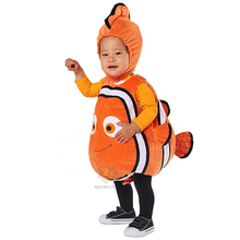 So cute Kids Nemo Cartoon Fancy Halloween Carnival Party Costume(China)