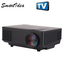 2015 New ST85 1800 lumens Pico Mini LED Projector digital Full HD 1080P Portable LCD Video Proyector TV Home Theater Beamer(China)