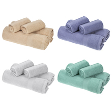 2pcs Bath Towels and 2pcs Hand Towels Bath Towel Cloth Bathroom Home Hotel Washing Cleaning Hand Cloth Hair Quick Dry Textile