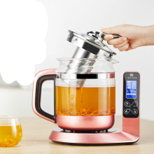Electric kettle raised pot fully automatic thickened glass bird's nest flower tea ginseng cordyceps Overheat Protection(China)