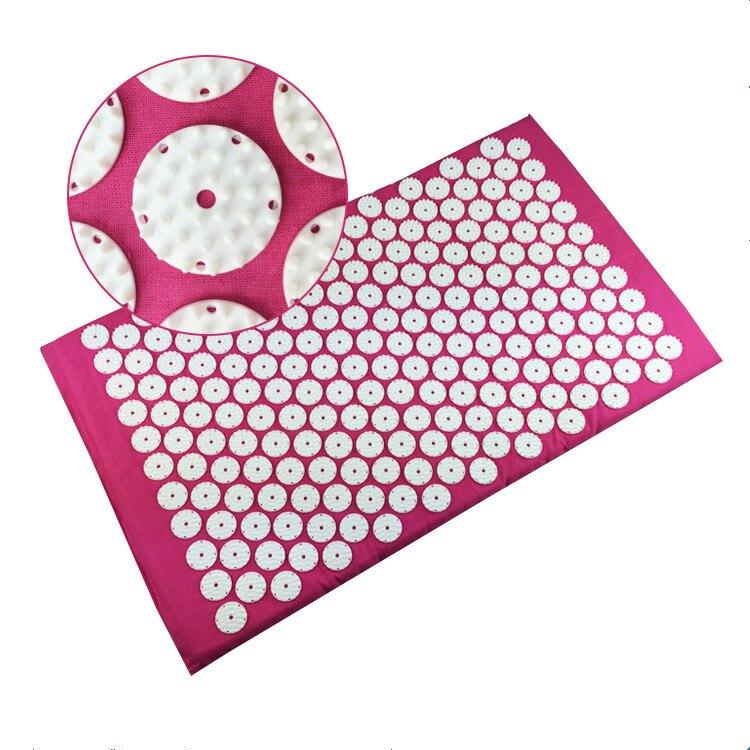 Acupressure Mat Export to Japan Back or foot Massage Cushion Shakti Mat Mild Acupuncture mat Yoga mat relieve sress Drop ship<br><br>Aliexpress