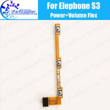 Buy Elephone S3 Side Button Flex Cable 100% Original Power + Volume button Flex Cable repair parts Elephone S3 for $5.97 in AliExpress store