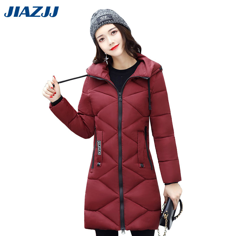 Winter Jacket Women 2017 Large Size Winter And Autumn Wear High Quality Parkas Winter Jackets Outwear Women Long Warm Coats M32Îäåæäà è àêñåññóàðû<br><br>