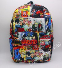 Japan anime NARUTO Backpack Printing College Student School Bag Anime Designer Backpack Shoulder Book Bag Rucksack