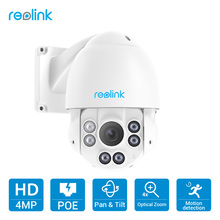 Buy Reolink PTZ IP Camera PoE 4MP Pan/Tilt 4x Optical Zoom HD Outdoor Motorized Lens Security Cam RLC-423 for $202.49 in AliExpress store