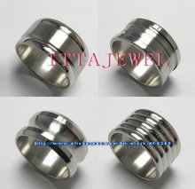 Wholesale 50pcs Fashion Mixed Style Stainless Steel Thumb Rings Jewelry
