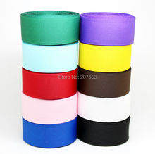 "50yards 7/8""(inch) 22mm Grosgrain Ribbon Lots for Hair Bows10Color Mixed Bulk -Free Shipping."