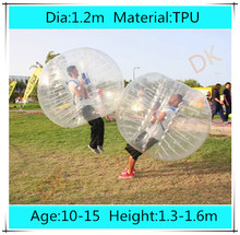 Dia 1.2m TPU Inflatable Bubble Soccer Football Ball for Children, Loopy Zorb Ball, Human Hamster Ball, Bumper Ball for Kids