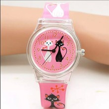 Children Silicone Wristwatches Waterproof Kid Watches Brand Quartz Wrist Watch Baby For Girls Boys Fashion Casual Reloj(China)