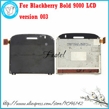 HKFASTEL For Blackberry Bold 9000 LCD version 003 Black or White Original LCD screen digitizer display+Frame Assembly+Tools(China)