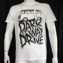 OKOUFEN Authentic PARKWAY DRIVE Kombi VW Bus And Surfboards Logo T-Shirt S-2XL NEW men's t-shirt(China)