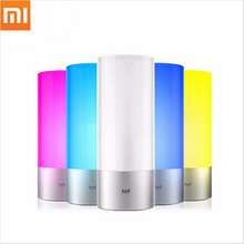 Xiaomi Yeelight 16 Million RGB Lights Touch Control OSRAM Bedside Lamp Bluetooth Smart Remote Control for Phone Smart bedlamp