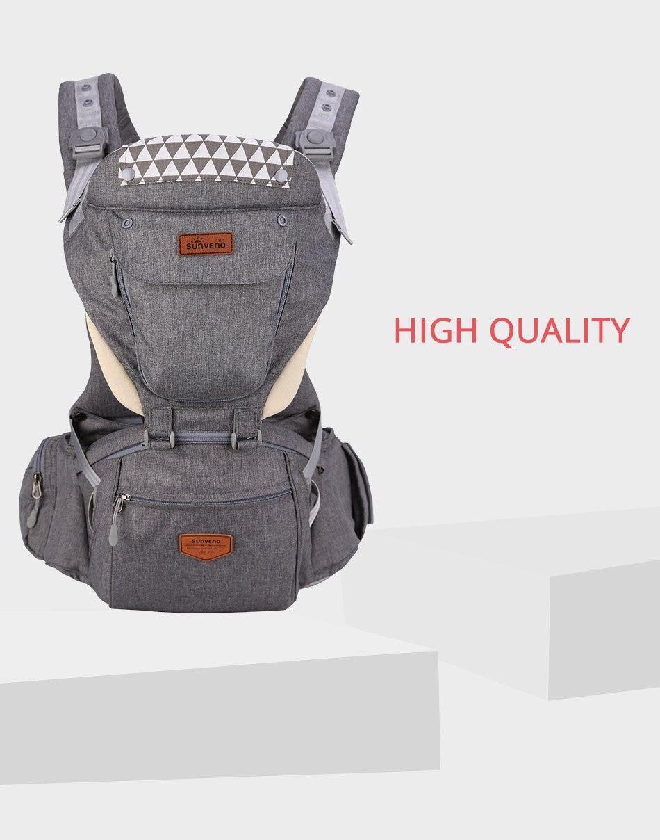 SUNVENO حقيبة وحمالة اطفال 24
