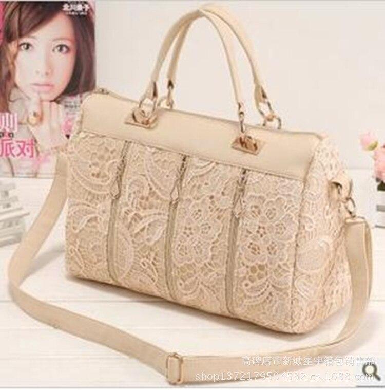 Hot sale New 2016 spring female bags fashion vintage lace bag shoulder bag handbag women messenger bag0001<br><br>Aliexpress