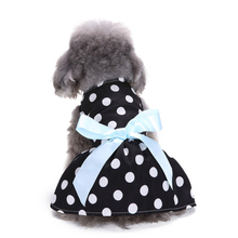 2017 New Puppy Dot Clothes Small Pet Dog Clothes for Girls Summer Sleeveless Skirt Dress Dog Clothes For Dogs
