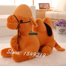 Dorimytrader 65cm X 55cm New Large Plush Animal Camel Toy Giant Stuffed Soft Cartoon Baby Doll Nice Gift Free Shipping DY61148