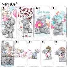 Buy MaiYaCa Teddy bear Coque Shell Phone Case Cover iPhone 8 7 6 6S Plus X 5 5S SE 5C 4 4S Coque Shell for $1.05 in AliExpress store
