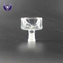 Handmade Borosilicate All Tabacco Smoking Glass Hookah Shisha Bowl Glass Head F19