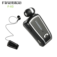 FINEBLUE Handsfree Auriculares Mini Bluetooth Headset Earphone For Your In Ear Phone Cordless Wireless Headphone Earbud Earpiece(China)