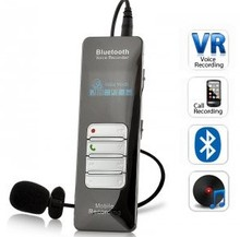 8GB Wireless Bluetooth digital voice recorder support Phone Call Recording and Password Protect Function(China)