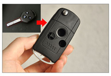 3 Buttons Replacement Modified Flip Folding Remote Key Case Shell For Subaru Legacy Forester Fob Key Cover