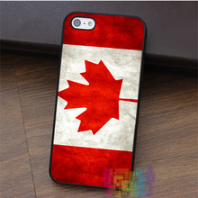 rebel  Canada flag fashion cell phone case for iphone 4 4s 5 5s 5c SE 6 6s 6 plus 6s plus 7 7 plus #LI2650