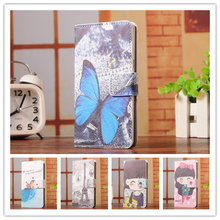6 Select 1 Luxury Fashion Cartoon Trend Stand Back Cover Skin Leather Case For Samsung Galaxy Core Advance GT-I8580