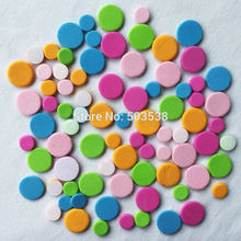 240PCS/LOT,Small dot mosaic foam stickers,Foam puzzle.Early educational toy,Kindergarten crafts.scrapbooking kit.wholesale cheap(China)