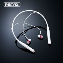 Remax Bluetooth 4.1 Magnetic Earphones Hand Free Stereo Bass Wireless Sports Earbuds Music Earphone For Samsung Smart Phones