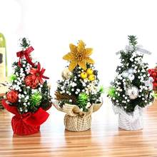 merry christmas tree bedroom desk decoration toy doll gift office christmas children decoration supplies decorations home