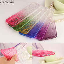 Buy 3D Diamond Sun flower Case iPhone X 6 6S 7 8 Plus 5 5S SE Transparent Gradient Soft TPU Bling Glitter Crystal Back Cover for $1.29 in AliExpress store