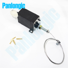 XHQ-PT 12V/24V Power On/Off Pull Type Diesel Engine Parts Stop Solenoid for Generator Spare Parts with Holder(China)