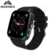 Makibes Talk N8 Smart Watch Smartwatch phone MTK6580 Android 5.1 GPS WiFi Bluetooth Pedometer Camera 5.0M 600mAh Wireless Charge
