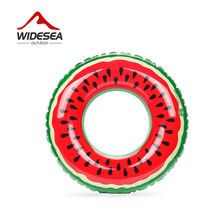 Beach or swimming pool swimming ring PVC inflatable watermelon adult children's fruit swimming circle 60cm 70cm 80cm 90cm 120cm(China)