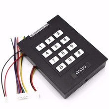 black  Standalone access controller with keypad work with ID card for all all access controller
