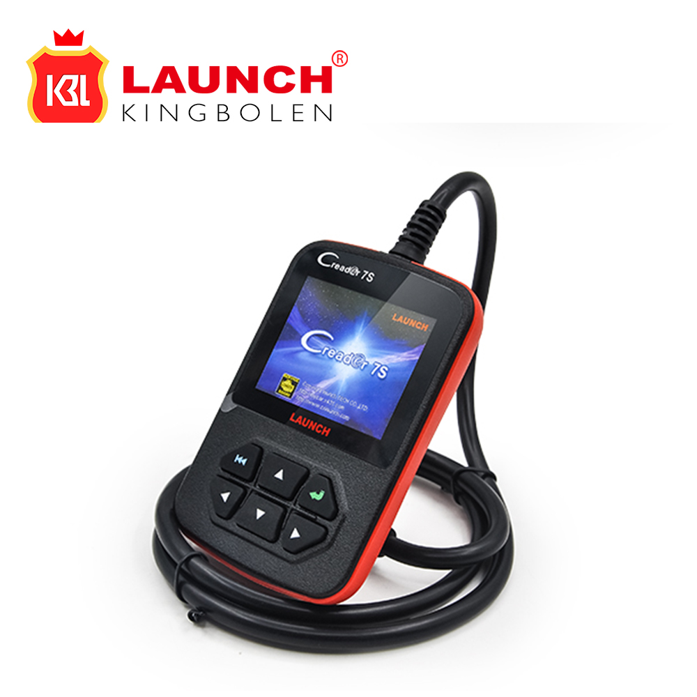 Launch X431 CReader 7s Generic OBDII Code Reader Scanner better than Launch X431 Creader VI with Oil Reset Function(China (Mainland))
