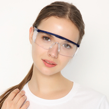 lab use safty Goggles anti-fog and anti-wind sand dust anti-UV men and women riding safety glasses