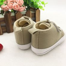 Toddler Infants Cute Baby Boy Girl Soft Sole Crib Shoes Sneaker 0-3Y Standard Size(China)