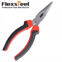 "High Quality High Carbon Steel 6"" American Style Combination Plier And Long Nose Plier, with Red and Black Handle"