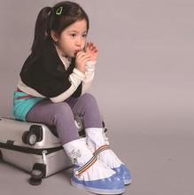 wholesale Children PVC Rain Shoe Cover Snow Boots Waterproof kid Gear Anti-slip Overshoes kids rain gear