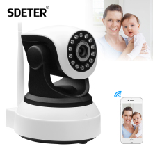 SDETER Onvif IP Wifi Camera Home Security Wireless Video Surveillance 720P Night Vision CCTV Wifi Camera PTZ Baby Monitor Webcam