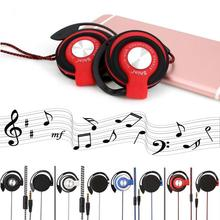 Ear hook Earpiece Nylon braided Earphone Running Sport MP3 headset for Phone Computer