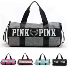 Nylon Outdoor Men Women Big Sport Bag Sac De Sport Handbag Fitness Shoulder Gym Bag Hot Training Female male Yoga Mat Duffel Bag