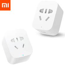 Original Xiaomi Smart Socket WiFi APP Wireless Control Switches EU US AU Timer Plug Charger for Android IOS