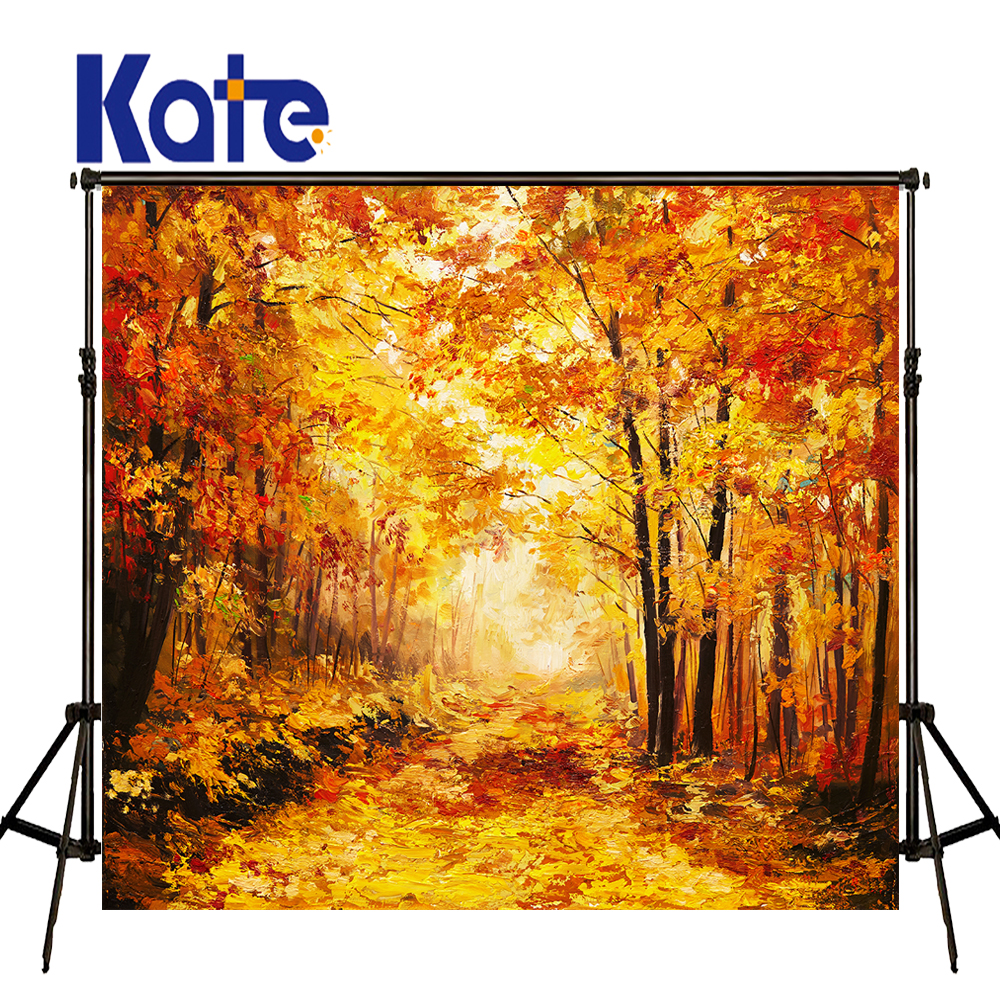 KATE Photography Background Fall Photography Backdrops Scenic Backdrops Forest Backdrop Outdoor Kids Backdrop For Photo Studio<br>