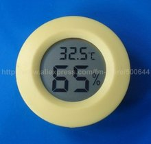 New Embedded Digital Thermometer Hygrometer/2 in 1 Digital LCD Hygrometer Thermometer & 50PCS/Lot DHL/UPS/EMS Free Shipping