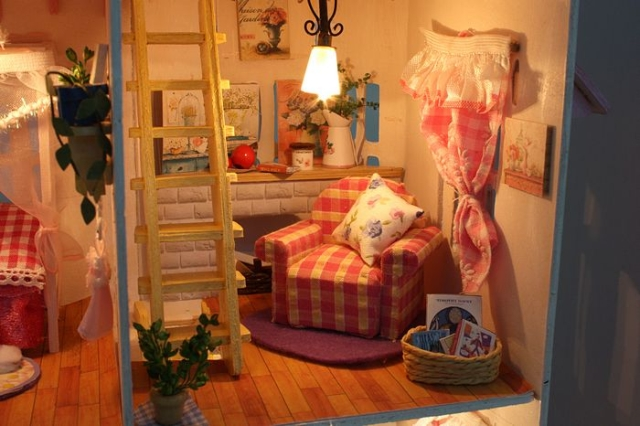 13007 DIY doll house gift (6)