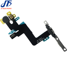 "Switch On Off Power Button Flex Cable For iPhone 6S Plus 5.5"" With Proximity Light Sensor with metal bracket Ribbon 10pcs/lot(China)"